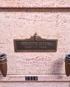 Webb's crypt at Hollywood Forever