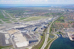 Copenhagen Airport is the largest airport in Scandinavia and the 15th-busiest in Europe.[157]