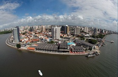 Aracaju is the largest city of the state.