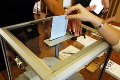 Transparent ballot boxes have been required since 1988.