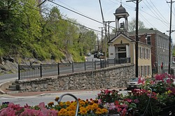 Main Street in Historic Ellicott City