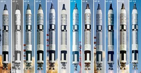 All Gemini Launches from GT-1 through GT-12