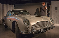 Aston Martin DB5 used for the film GoldenEye
