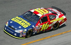The No. 16 NASCAR Ford Taurus of Greg Biffle