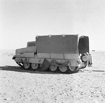 WWII tank concealed in Operation Bertram by mimicking a truck