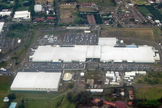 This Intel microprocessor facility in Costa Rica is responsible for 25% of exports and 4.9% of Costa Rica's GDP.