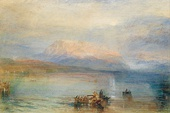 J. M. W. Turner, The Red Rigi, 1842