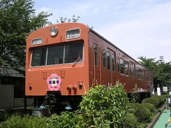 KuMoHa 101-902 at Tokyo General Rolling Stock Center, August 2005