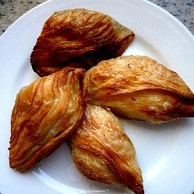 Pastizzi, a typical Maltese snack