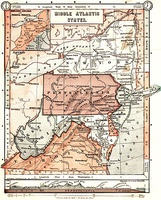 An 1897 map displays an inclusive definition of the Mid-Atlantic region.