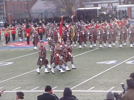 Toronto Scottish Regiment Presentation of Colours March Off