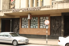 Headquarters of Rádio Moçambique in KaMpfumo district of Maputo (photo 2009)