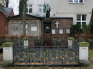 Rauch's grave in Berlin