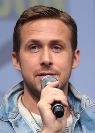 Gosling at the 2017 San Diego Comic-Con