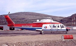Sealand Helicopters S-76A at CFS Saglek