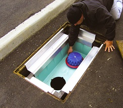 Stormwater filtration system for urban runoff