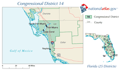 United States House of Representatives, Florida District 14 map.png