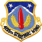 4135th Strategic Wing Patch
