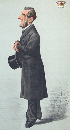 The Earl of Shaftesbury by Carlo Pellegrini, 1869