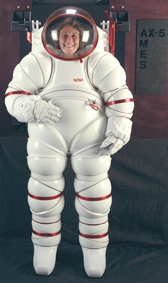 NASA developed this hard-suit in the 1980s at the Ames Research Center