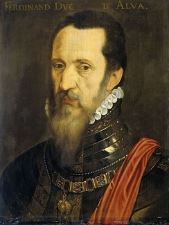 Fernando Álvarez de Toledo by Willem Key (1568)