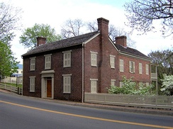 The Andrew Johnson House, built in 1851 in Greeneville, Tennessee