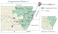 Arkansas's 1st district