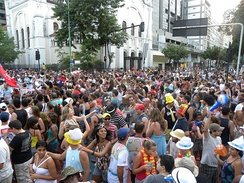 Banda de Ipanema, one of the largest carnival blocks of the city