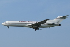 Kalitta Charters is the largest 727 operator, with six in its fleet.