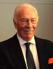 Photo of Christopher Plummer at the 2014 Miami International Film Festival.
