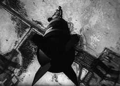 Slim Pickens in the Cold War dark satire Dr. Strangelove, one of the many acclaimed master works from Stanley Kubrick.