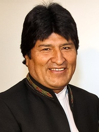 Evo Morales was the most recent President of UNASUR.