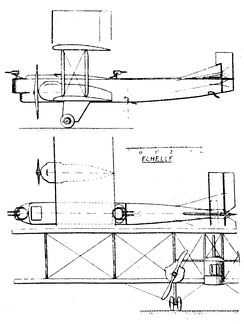 Farman F.160 3-view drawing from L'Aérophile-Salon1926