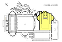 Plan of the Forum Augustum (in yellow)