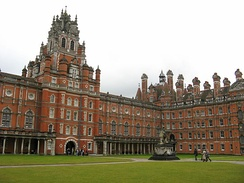 The Founder's Building of Royal Holloway