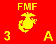 A guidon for Company A, 1st Battalion, 3rd Marines