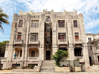 Havana art deco building