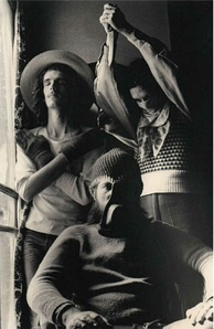 Invisible in 1974, photograph by Eduardo Martí.