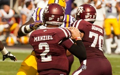 Manziel playing against LSU – October 20, 2012