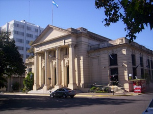 Local branch of the National Bank of Argentina