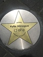 Minogue's star on the Melbourne's Walk of Stars[272] and handprints and signature in Olympiapark, Munich[273]