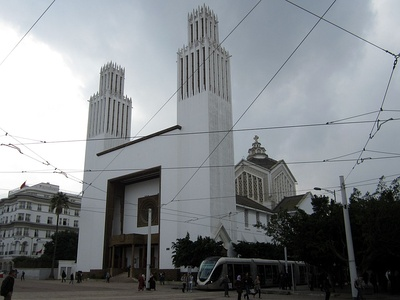St. Peter's Cathedral in Rabat, Morocco (1938)