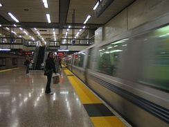 The Lake Merritt BART station