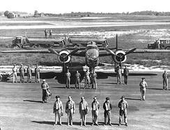 Crew and their B-25