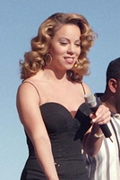 Mariah Carey at the Edwards Air Force Base