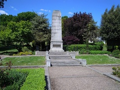 The Cenotaph in Municipal Gardens