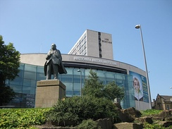 Statue outside the National Media Museum