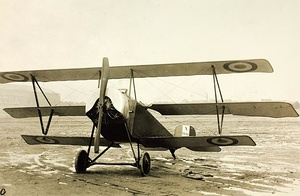 Early French Nieuport X.B reconnaissance aircraft
