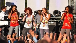 The No Angels were Germany's biggest girl group and have the best selling album by a girl group of all time there.