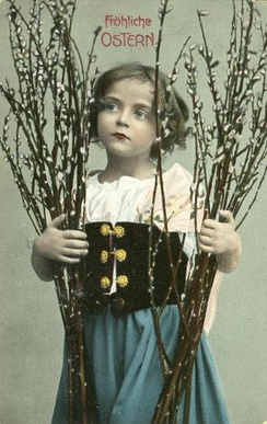 Easter postcard (Germany, 1902)